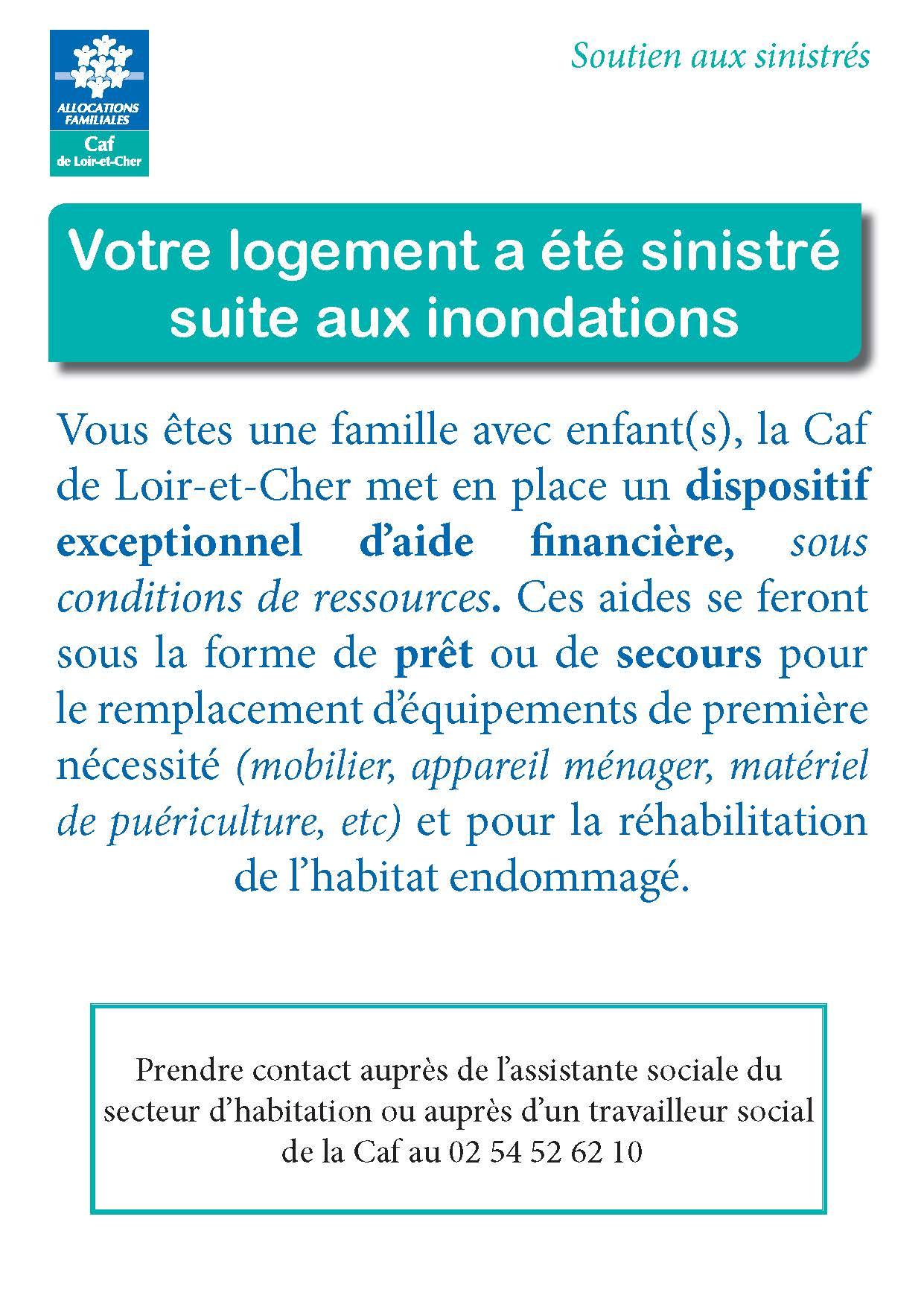 aide caf habitat